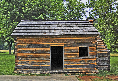Lincoln Log Cabin ~ Ron fritze abraham lincoln vampire hunter cinema and fiction