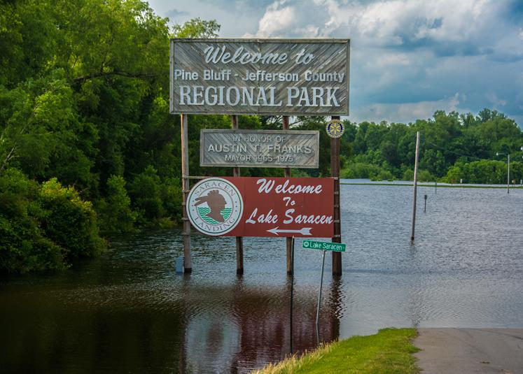 Photo of the Week | High Water in Lower Arkansas