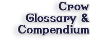 go to Glossary and Compendium