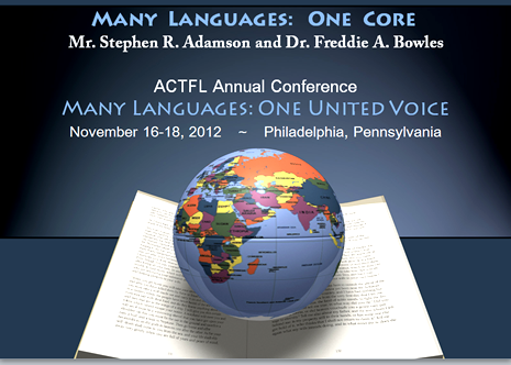Planet Gnosis Presenting At ACTFLs Conference In Philadelphia - How many languages on earth